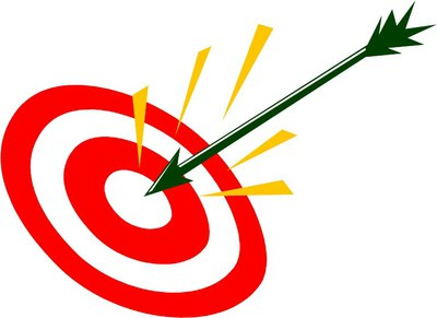 Graphic of target with arrow in the bullseye