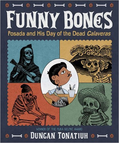 Graphic for Book Sibert Funny Bones