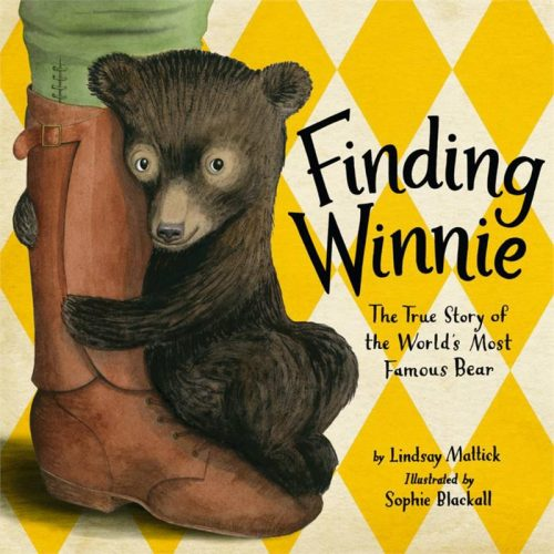Graphic of book Caldecott Finding Winnie