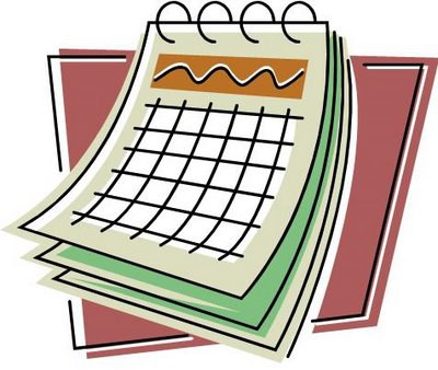 Cartoon Planning Calendar