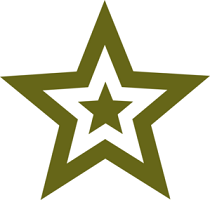 Graphic of Military Stars